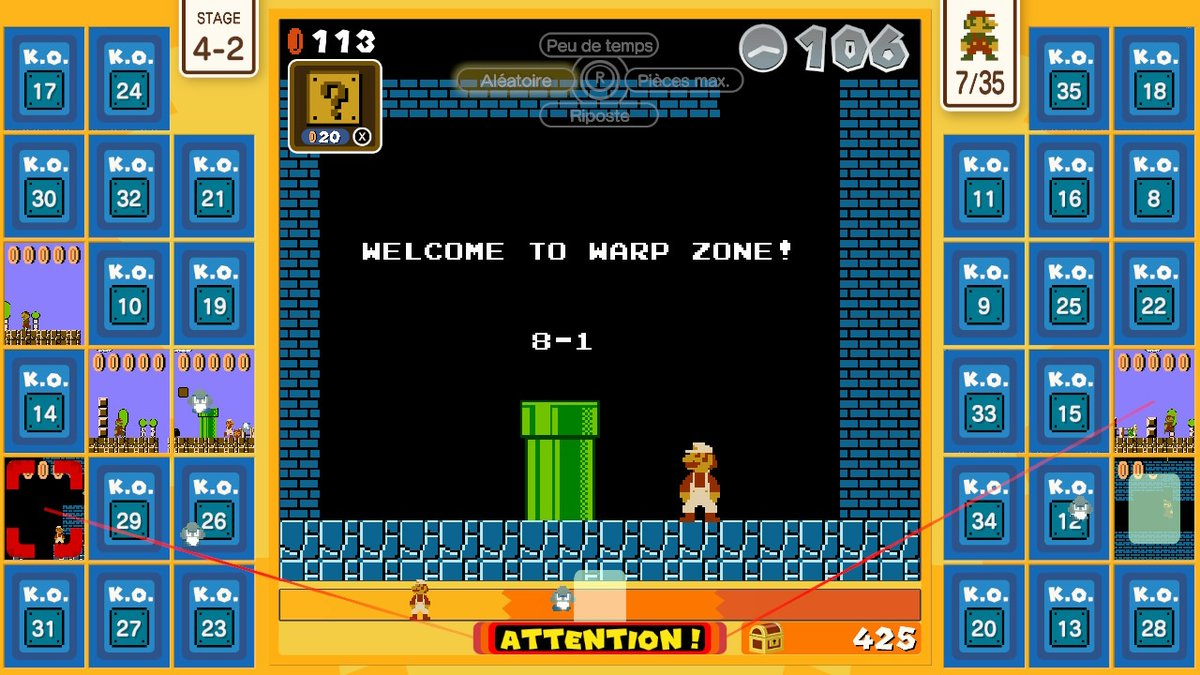 Ca serait cool de pouvoir warper jusqu'à la fin de la pandémie direct #SuperMarioBros35 #NintendoSwitchOnline #NintendoSwitch
