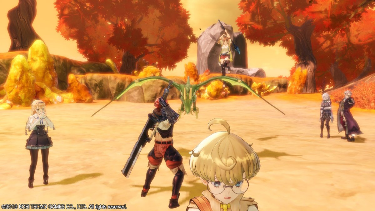 Attack on Tao #RyzaMosaicArtEU #ライザ #Ryza #アトリエシリーズ #NintendoSwitch
