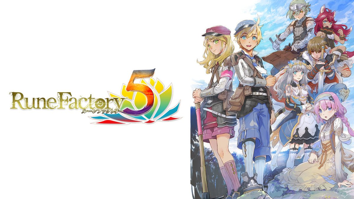 Rune Factory 5 launches May 2021 in Japan, new trailer
