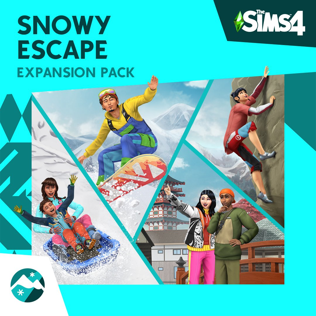 The wonders of Mt. Komorebi await in #Sims4SnowyEscape ! 🏂⛷️🧗♨️⛰️ Slow down to take it all in, or rush into the adventure of a lifetime: #gamedev #indiedev #indiegamedev #gamingnews #gaminglaptops  #onlinegaming #pcgaming