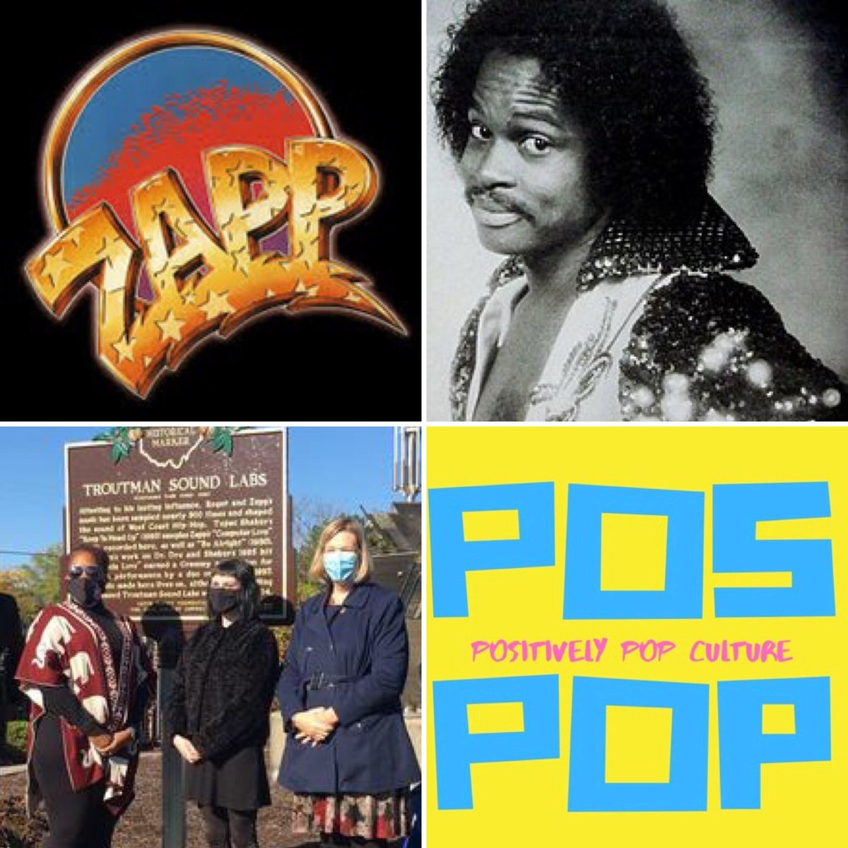 On today's episode of #PosPop, Bowling Green State University Ph.D. candidate Jackie Hudson joins us to talk about pioneering #funk musician Roger Troutman and his band #Zapp. Find us wherever you get your #podcasts! #podcast #popculture