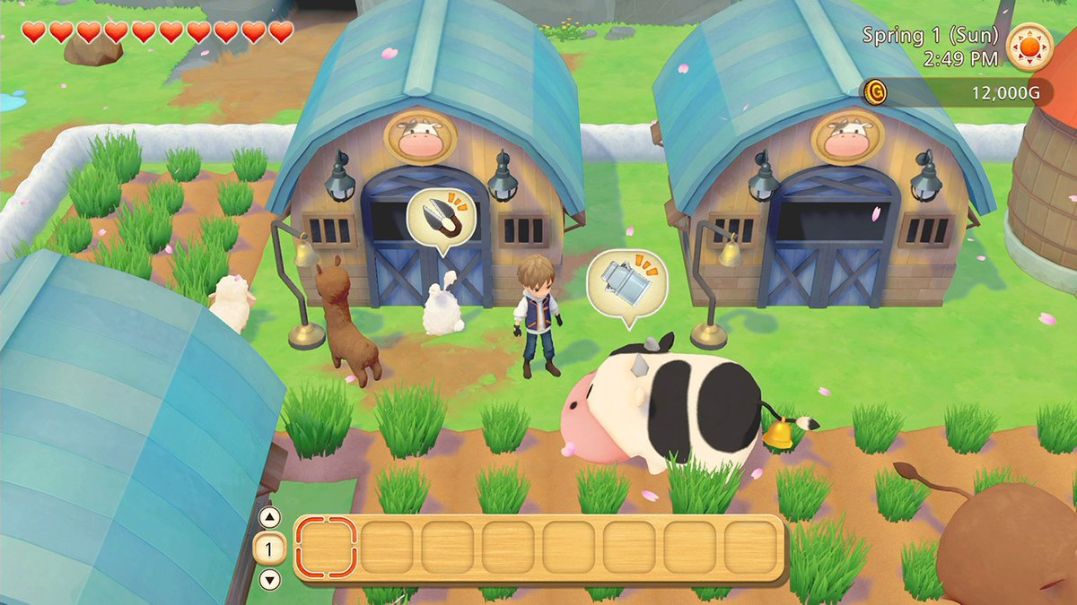 Tame the wilderness, find romance, & explore the world of Olive Town as we are excited to announce STORY OF SEASONS: Pioneers of Olive Town.  Begin your pioneering adventure on 26th March 2021 for the Nintendo Switch.    #NintendoDirectMini #NintendoSwitch