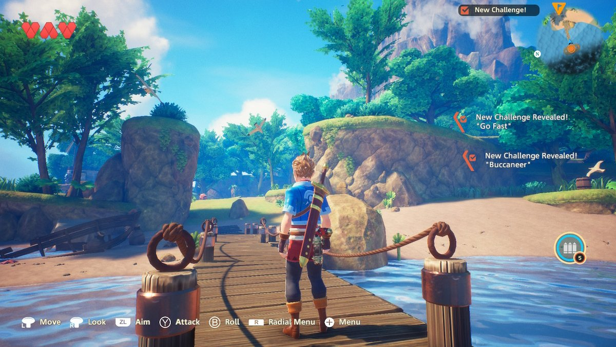 I wasn't expecting the game to look so good! Definitely impressive #Oceanhorn2 #NintendoSwitch