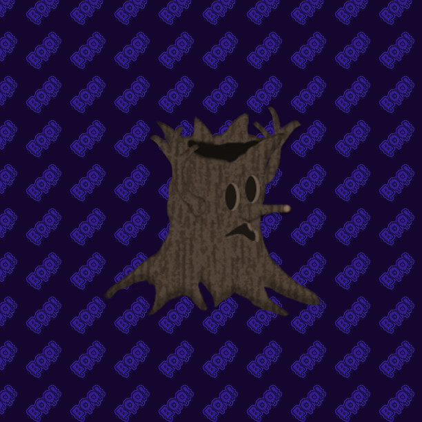Ever wonder why you feel like something is watching you in those creepy woods out back? It could be Woodsy waiting for a chance to strike! #13DaysofHalloween     #indiegames #gamedev #indiegame #indiegaming #rpgmaker #RPGツクールMV #RPGツクール  #rpg #slime