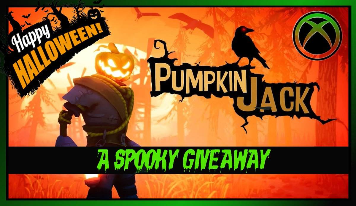 🚨 #GiveawayAlert 🚨  🎃Here's your chance to win Pumpkin Jack on #XboxOne  (Digital code) Anyone can enter!  👻The day after my #freecodefridaycontest ends, this #giveaway will end. October 31th, at 8pm est.  💀How to enter:  💚Like 🔁Retweet ⏬Enter Link