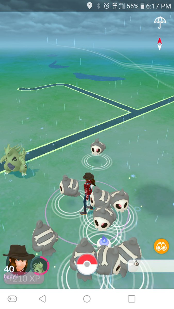 This event is starting to get more creepy than expected. #PokemonGO #Pokemon