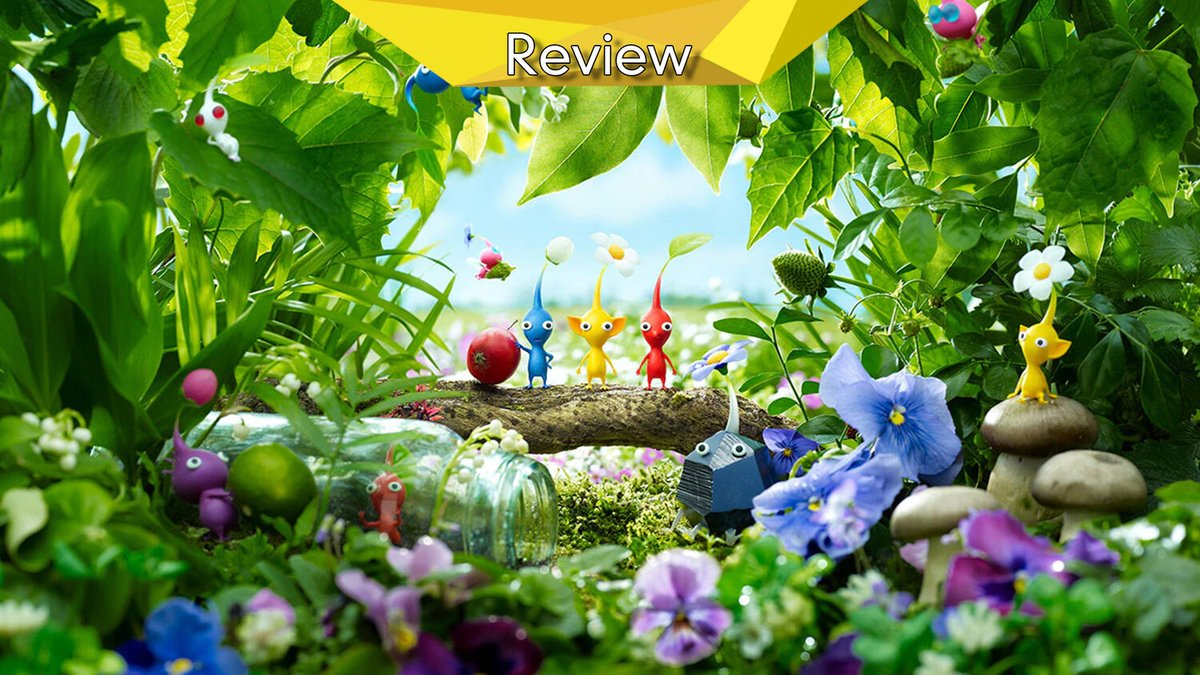 Everything old is new again on #Switch and that includes fan favourite #Pikmin3, but does this Deluxe edition thrive with this new light, or was it best left to its own devices, find out with our #review  Review:
