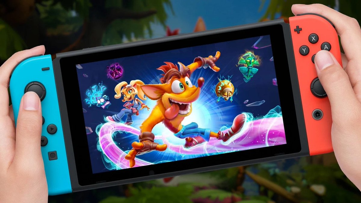 New Discovery Suggests Crash Bandicoot 4 Might Be Coming To Nintendo Switch  #Rumour #NintendoSwitch #CrashBandicoot #Activision