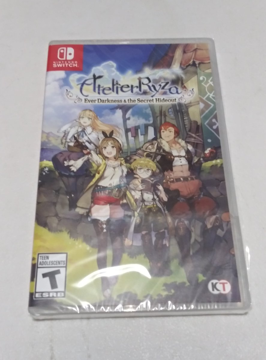 @KoeiTecmoUS #AtelierRyza look what was delivered today. Looking forward to playing this game.