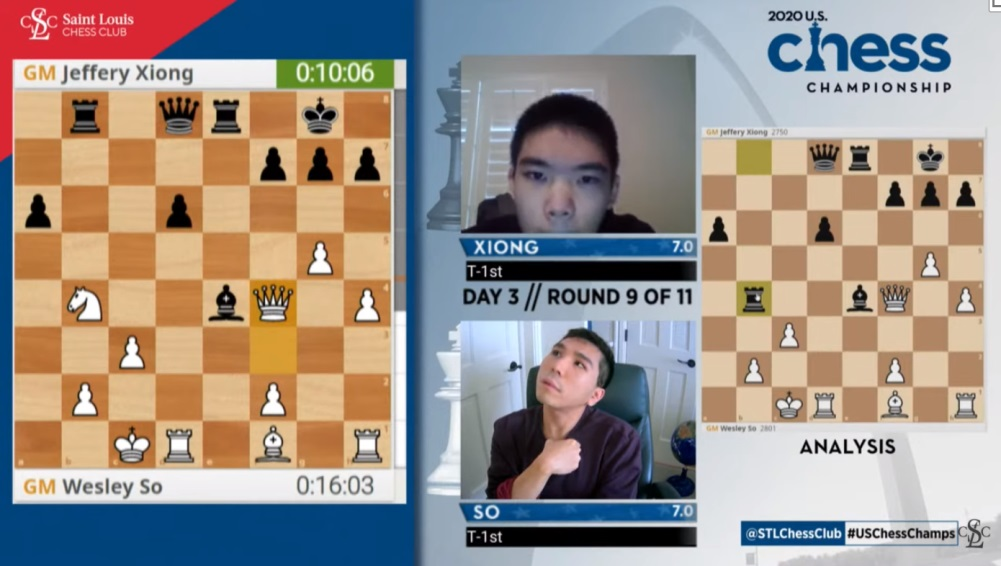 "test Twitter Media - Wesley So on scoring 8/9 with two rounds of the US Chess Championship to go:  ""Definitely it's a dream tournament... but it's not over yet!"" https://t.co/RjJX03l6Tc  #c24live #USChessChamps https://t.co/tjuBkBHfCT"