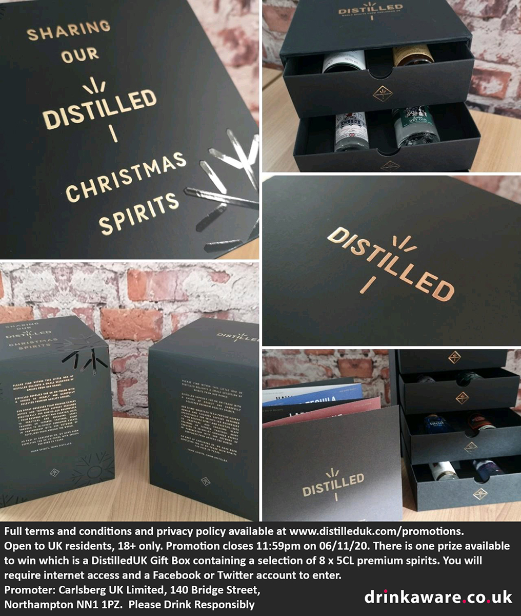 Want to try some fantastic spirits from our carefully selected range? We can help with that. Simply LIKE & FOLLOW our page for your chance to win a DISTILLED gift box filled with, miniature bottles of spirits. Enjoy responsibly. #win #cocktail T's & C's https://t.co/bZ4AxtcBSB https://t.co/IVrFeYsbuZ