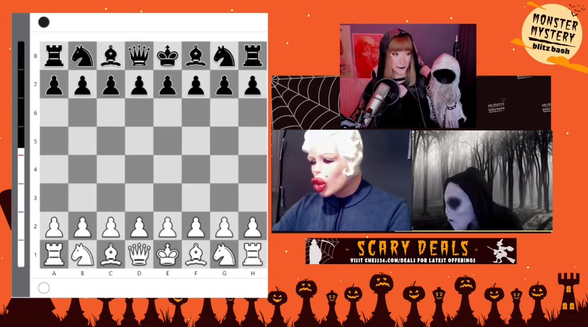 test Twitter Media - How does the way you play change if you don't know who your opponent is? How does your play change if your opponent is a spooky monster or a killer?  We're about to find out! 🎃https://t.co/VpwzKFTSeQ  #c24live https://t.co/DJk27NSkPe