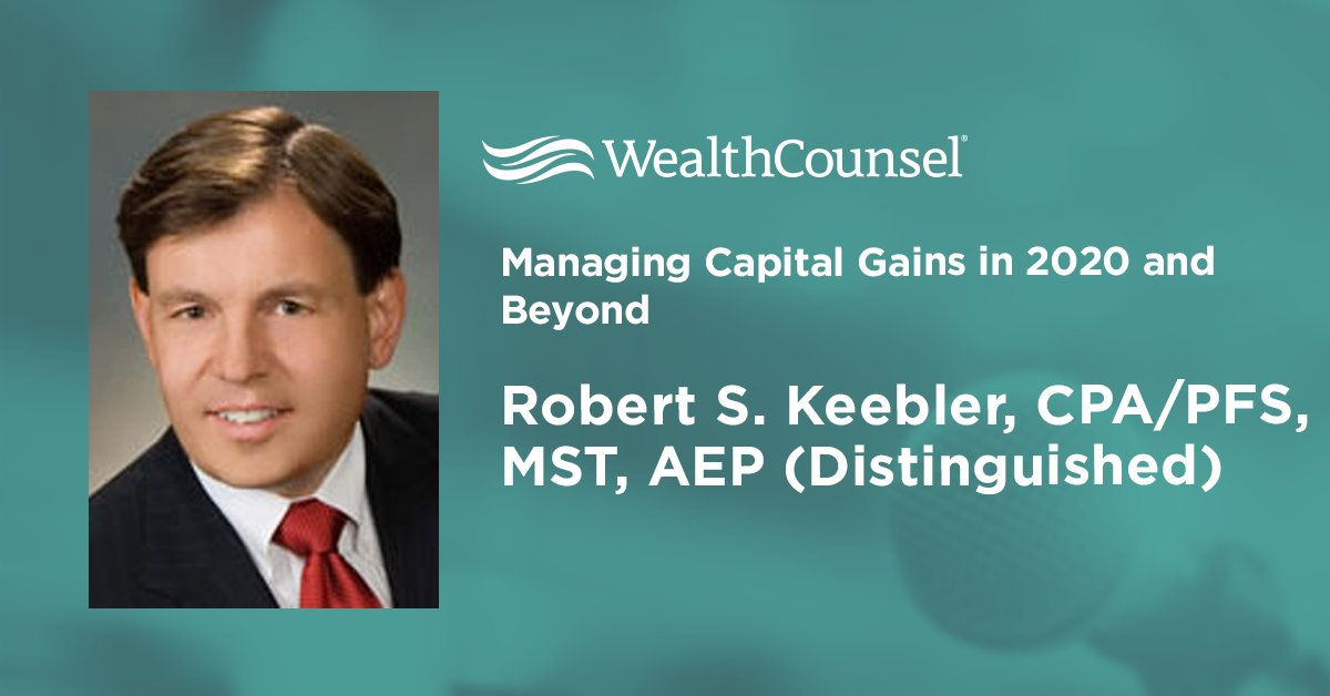 test Twitter Media - What will #election2020 bring for the rules on capital gains taxes? Join Robert S. Keebler, CPA/PFS, MST, AEP (Distinguished) the day after the results to find out! Register now here: https://t.co/dD7RpLr52H  #capitalgains #estateplanning #wealthmanagement #financialplanning https://t.co/9WvUwIQ7YH