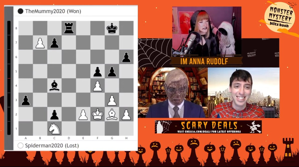 "test Twitter Media - ""I don't know how Spiderman does it"" says @hellokostya about playing in a mask, after narrowly losing a match to TheMummy! https://t.co/VpwzKFTSeQ  #c24live https://t.co/9kds9gIHYn"