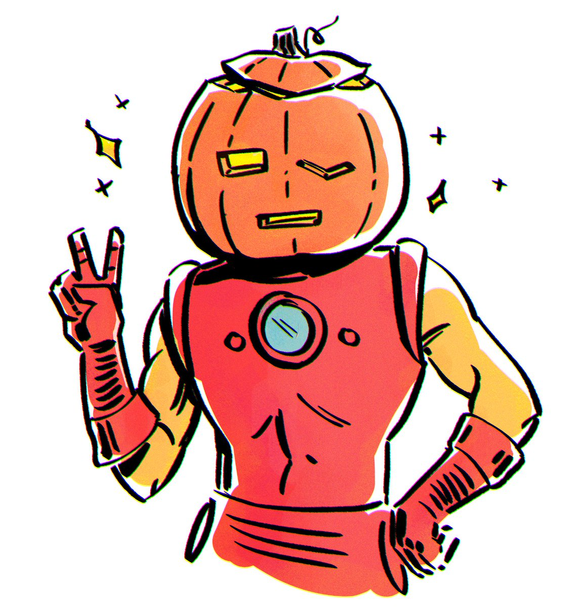 🎃happiest of spooks from ur local iron man🎃