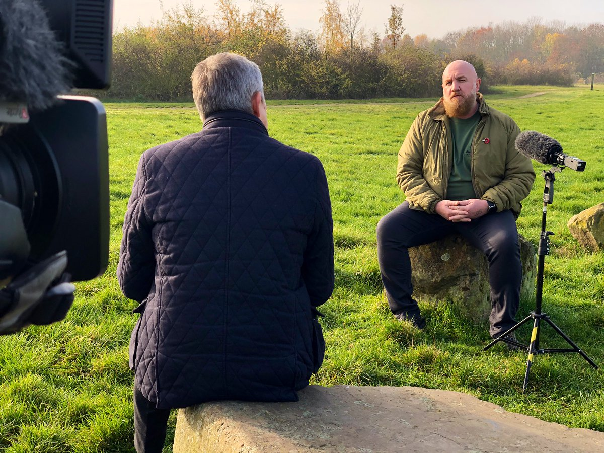 test Twitter Media - On @itvcalendar tonight @DavidHirstITV talks to Ben Parkinson ahead of Remembrance Sunday https://t.co/3Ugk2Xny1I