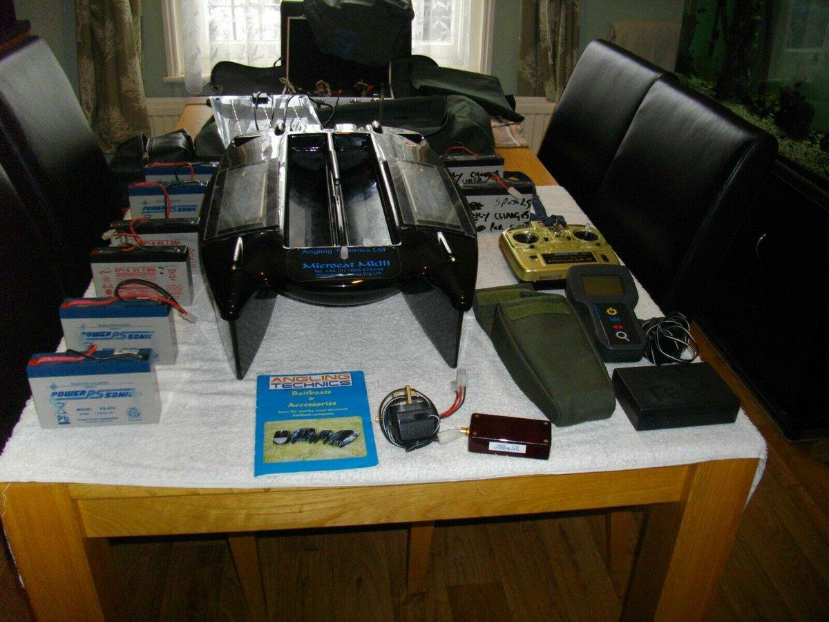 Ad - Angling Technics Microcat Mk 3 bait boat + accessories On eBay here -->> https://t.co/msu