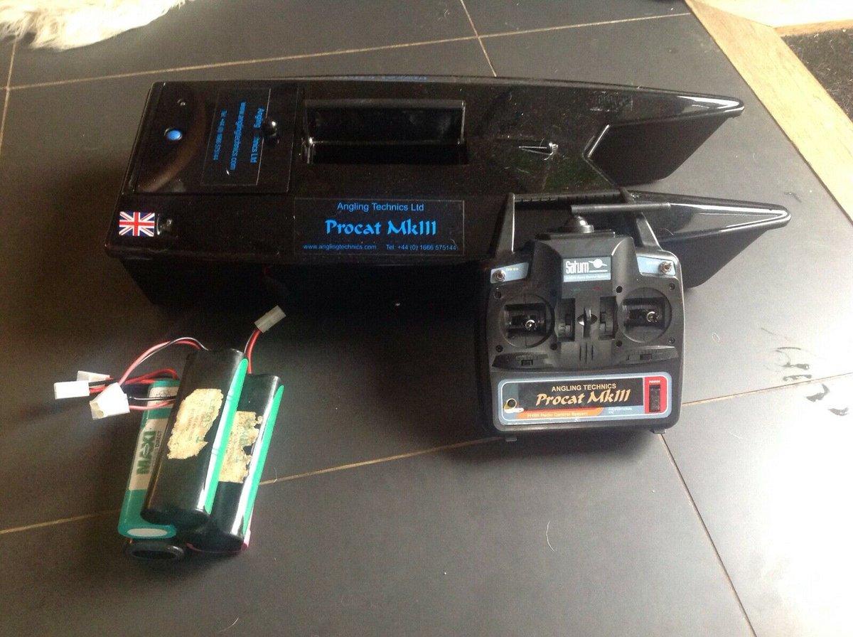 Ad - Angling Technics Procat Mk3 bait boat   On eBay here -->> https://t.co/1cfWo0evKx  #carpf
