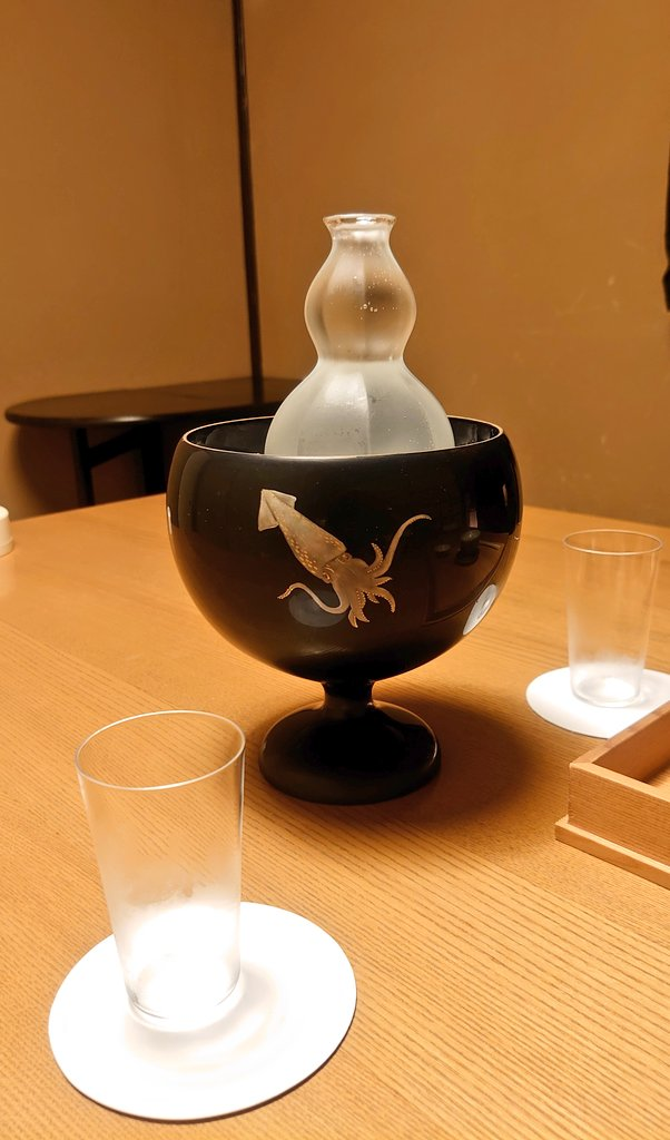 test ツイッターメディア - 日本酒は飲んだ事ない 黒龍 頼んでみました。甘くてすっきり美味しい😋🍴💕🍶 https://t.co/i0yE8lxogr