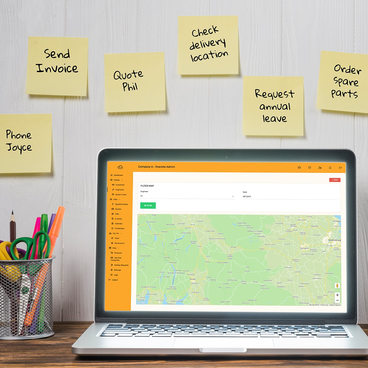 Ditch the post-it notes & save our planet with Oversite 🌍  Manage tasks, set reminders and keep on top of vital quotes and invoices; all from one cloud-based CRM system ☁️  #CRM #erp #CloudComputing #businesstips https://t.co/wrBrhuLExS