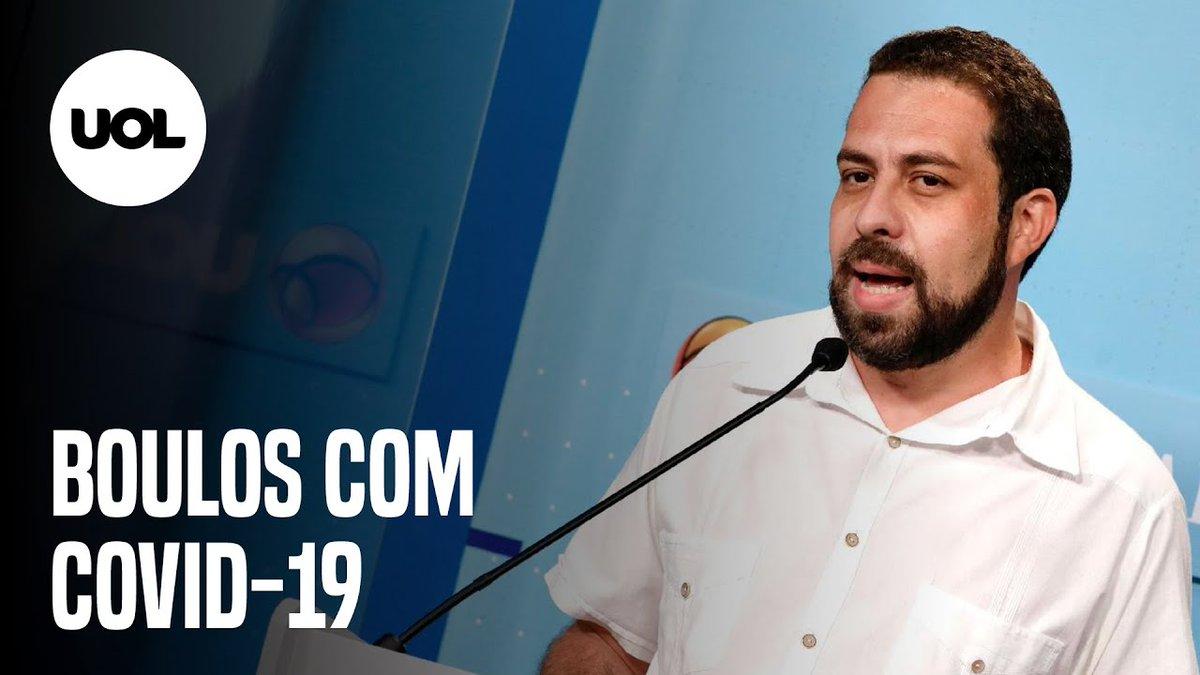 Boulos testa positivo para covid-19 e propõe debate virtual à TV Globo  O candidato do PSOL à prefeitura de São Paulo foi diagnosticado com covid-19. O resultado do teste foi divulgado na tarde desta sexta-feira (27)