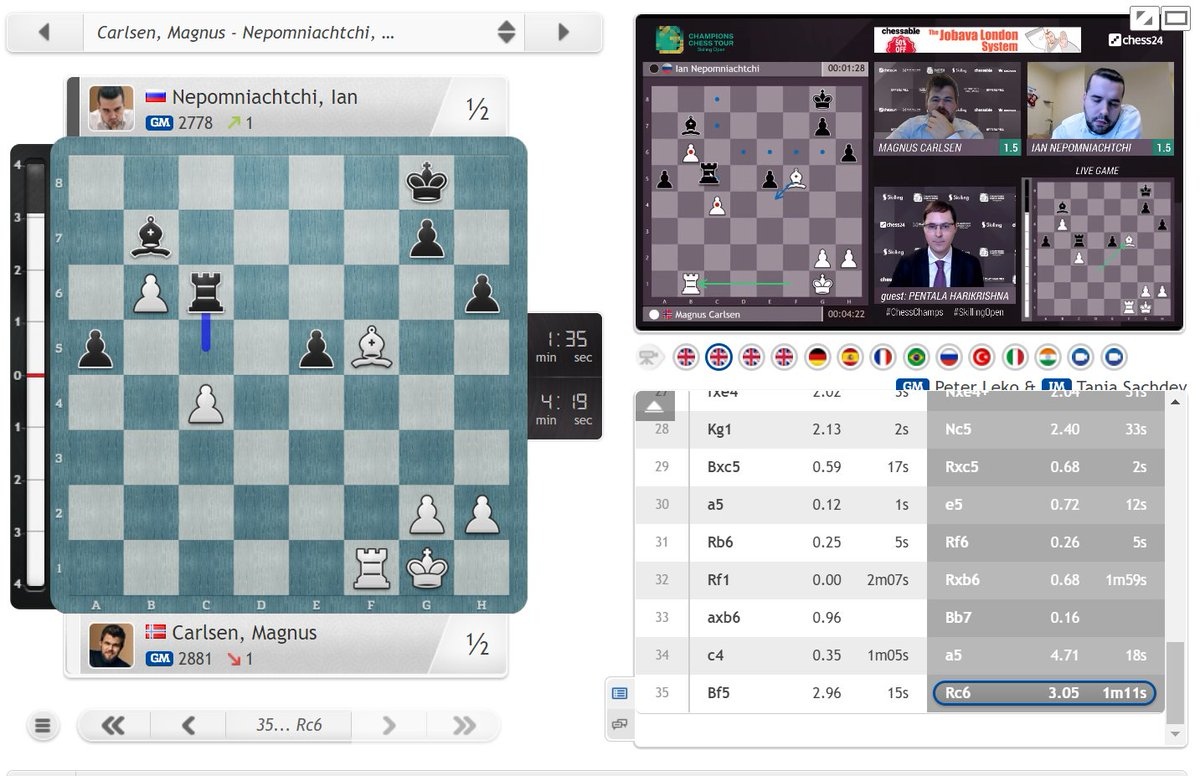 test Twitter Media - It's Carlsen-So in the #SkillingOpen final tomorrow after Ian offered Magnus a draw in their last game: https://t.co/bohBKXQ7AP  #c24live #ChessChamps https://t.co/KI72tC9eHW