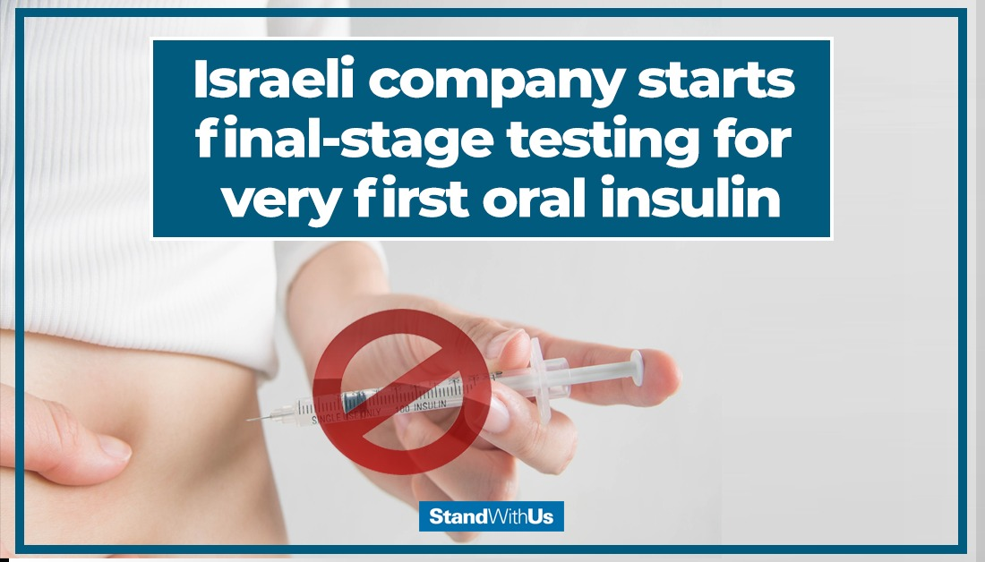 test Twitter Media - A mother-son duo from Israel's Oramed Pharmaceuticals has developed what could be the first-ever oral insulin to treat #diabetes. The drug is in the final stages of testing. Wow! 🇮🇱👏🏻 https://t.co/8FaVLKzZXX