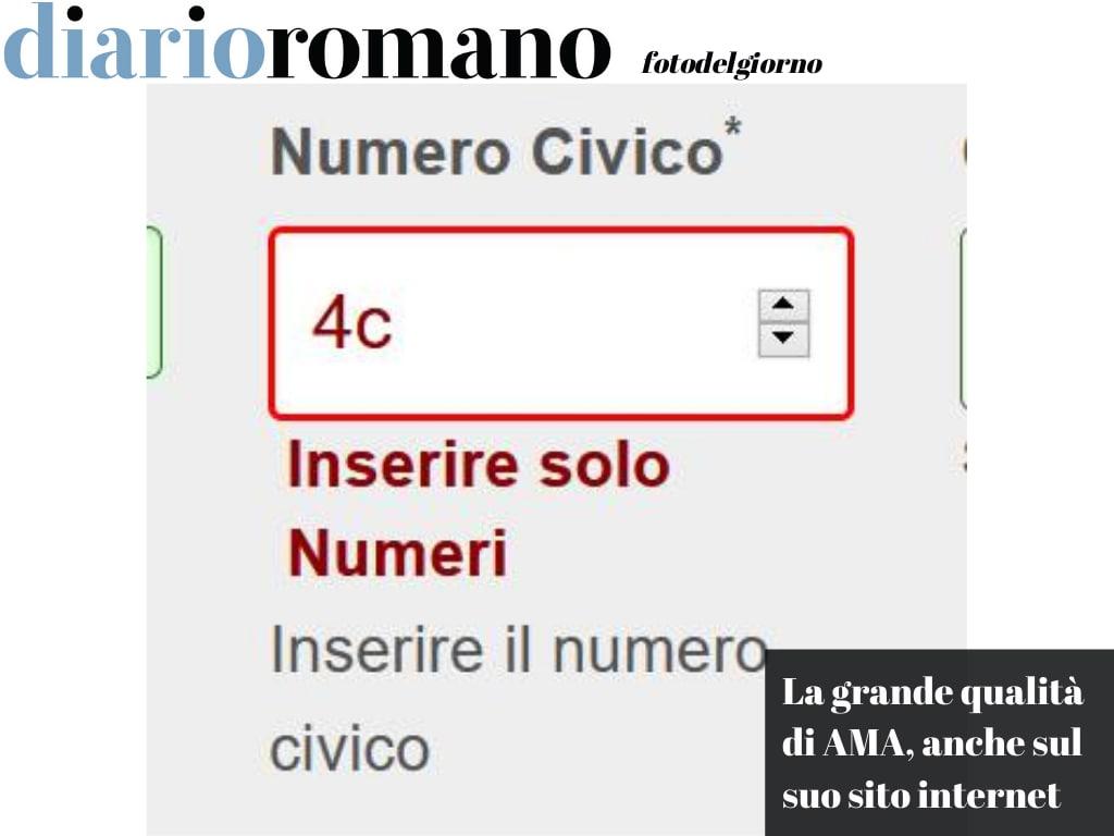 test Twitter Media - Chi ha progettato il sito di #Ama, esattamente la pagina per modificare la propria anagrafica, non sa che a #Roma esistono numeri civici con le lettere... (S.T.) #fotodelgiorno 📸 https://t.co/hXEZnhaYPU