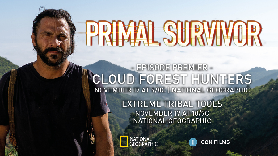 Tools are an essential element to surviving in remote environments. Tonight's double bill of #PrimalSurvivor sees Hazen hunt with traditional gunpowder muskets, followed by a look at the most extreme tribal tools he has ever encountered. From 9/8c on @NatGeoChannel https://t.co/d3aiQQcVW3