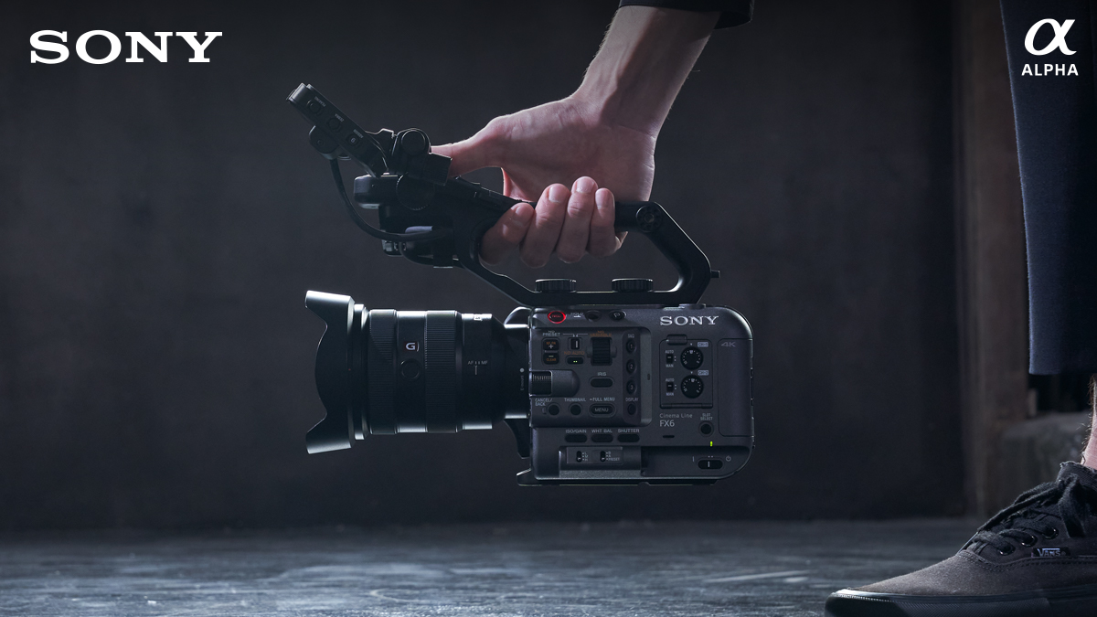 Sony's brand new addition to the Cinema Line, the FX6, has arrived.
