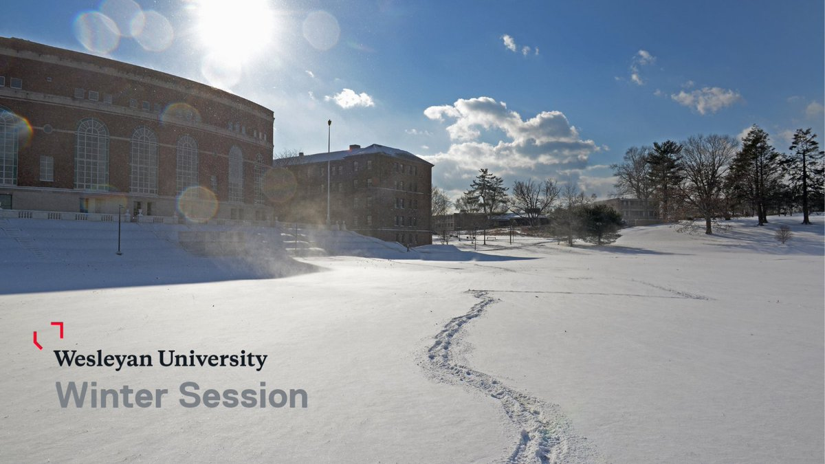 test Twitter Media - Registration for Wesleyan Winter Session is open now. Study in either a short or long session over winter break. Explore topics such as Mapping the Pandemic, Reading and Writing Memoir, Intro to Financial Accounting, and more. Visit https://t.co/avAf6uosiK to learn more. https://t.co/8GLUyfyGOm
