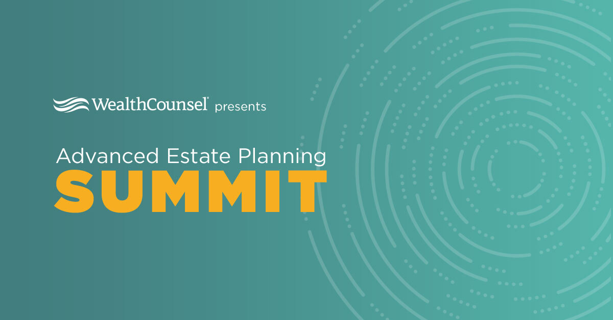 test Twitter Media - JUST ANNOUNCED: Some of the most prestigious industry experts are going to deep dive into #estateplanning at WealthCounsel's Advanced Estate Planning Summit on January 28th - claim your spot now! https://t.co/6W3iJA36xz https://t.co/qmKbz8dwHL