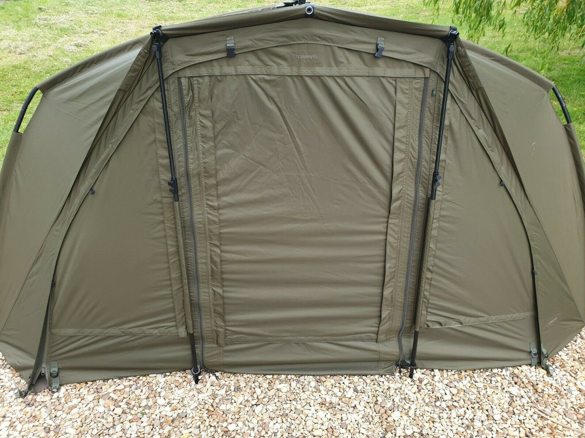 Ad - Trakker Tempest V2 bivvy system On eBay here -->> https://t.co/JRrnMYIzrf  #carpfishing h