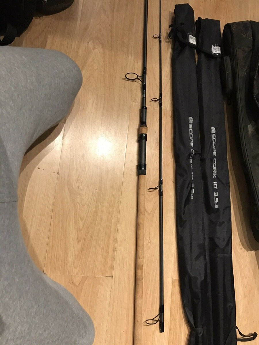 Ad - Nash Scope Rods x3 10 Ft 3.5 TC Cork Handles On eBay here -->> https://t.co/i8ZbTOyIhm  #