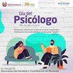 Feliz día a nuestros colegas Psicólogos... https://t.co/ALq86qBmaB
