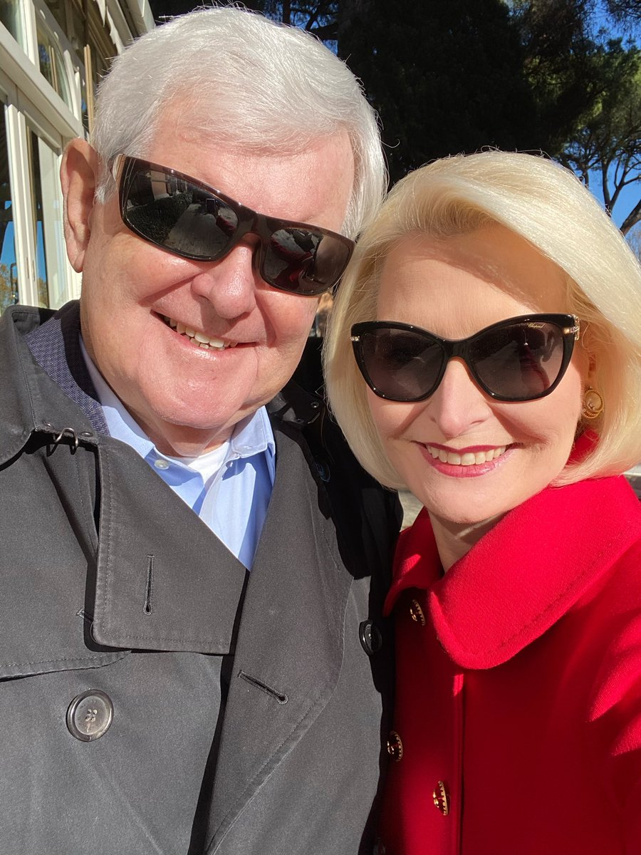 .@newtgingrich and I wish you a blessed Sunday!