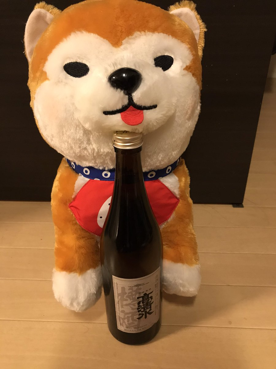 test ツイッターメディア - ほまれや酒造さんで購入した 樽出しの高清水  秋田のお酒ということで、家にいた秋田犬と  これがとてもおいしい また入荷楽しみにしております https://t.co/g7NzUB8qOL