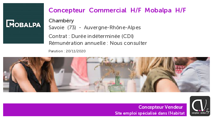 test Twitter Media - Offre d'emploi  Concepteur Commercial H/F - Mobalpa - Chambéry (73) https://t.co/vBChHBl4dD https://t.co/HGjndRpvQG