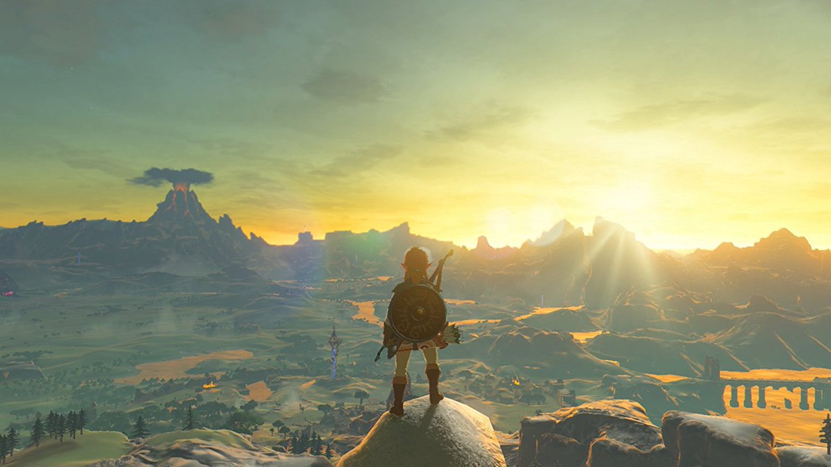 This is achingly unimportant—given what's going on—but I just wanted to mark this odd moment in my life: I'm 44 years old; I enjoy playing video games; and I've just started playing a Legend of Zelda game for the first time. Not sure how I made it this far without having done so.