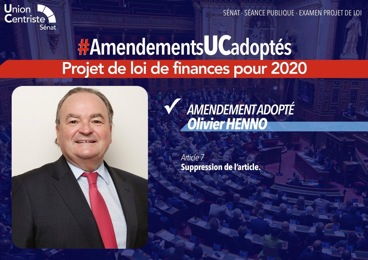 #PLF2021 - #AmendementsUCadoptés  ✅ Amendement de @OHenno adopté  👉 Pour en savoir plus :