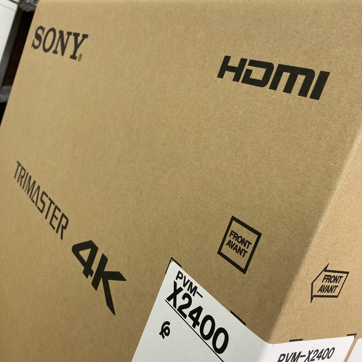 NEW Sony monitors now shipping!