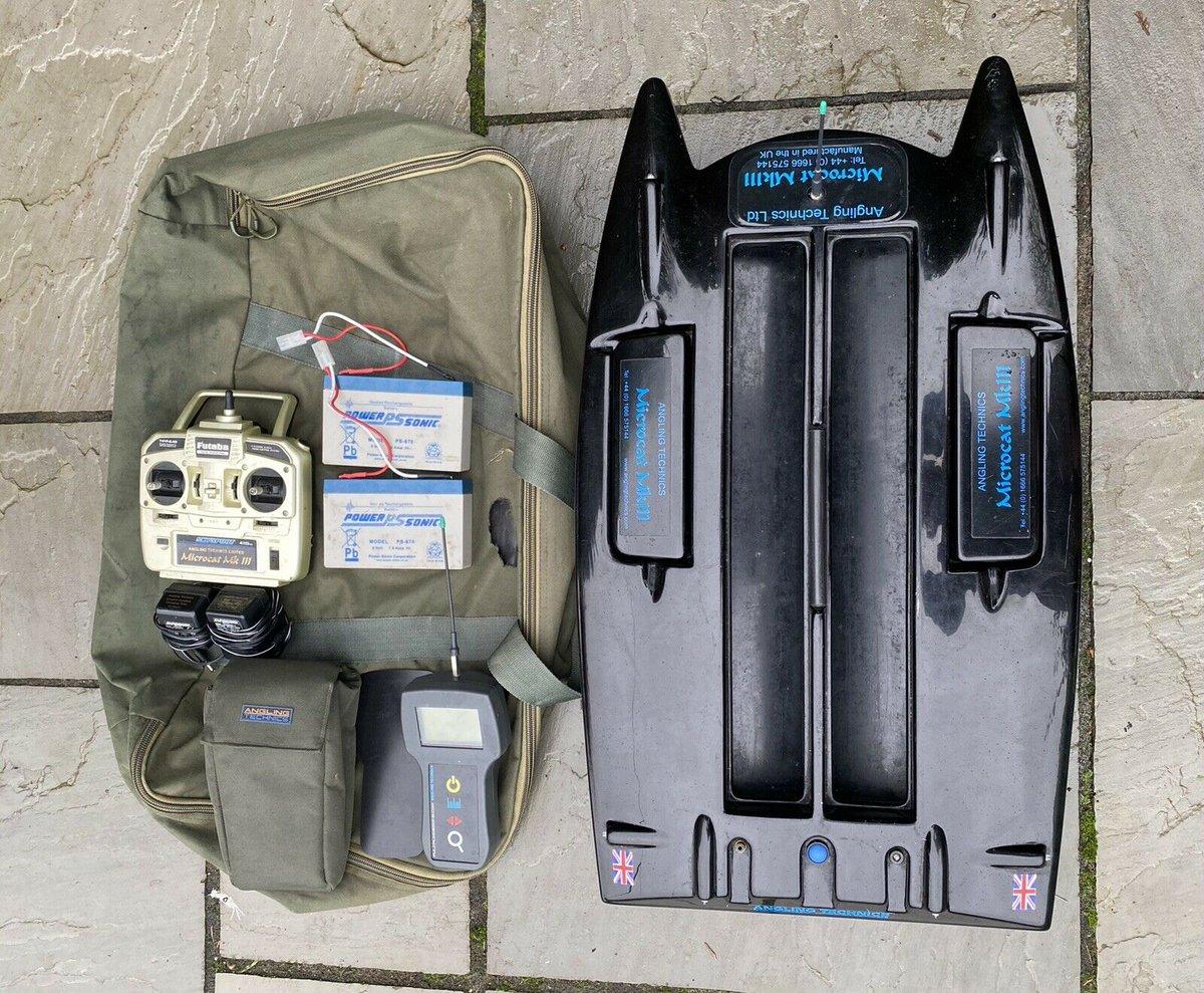 Ad - Angling Technics Microcat Mk3 Bait Boat & Echo Sounder On eBay here --&<b>Gt;</b>&<b>Gt;</b