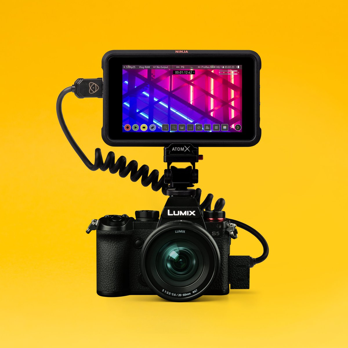 RT @AtomosGlobal: Announcement ?: Ninja V AtomOS 10.55 free firmware now supports up to 5.9K full frame ProRes RAW recording from the new P…