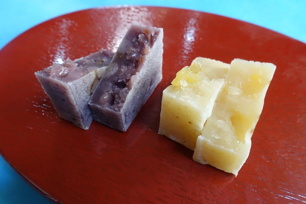 test ツイッターメディア - 中田屋 ハローキティきんつばmini 「あっぷるぱい」と「みっくすべりー」が各一個入ったミニセットが発売開始となり手軽に味わえるようになった。 あっぷるは、青森林檎ふじの果実のシャリ感を楽しめる。 みっくすべりーは白小豆餡に、苺,ブルーベリー,ラズベリーの甘酸っぱさが残る。 包装も可愛い。 https://t.co/vtZ2qK9hxu