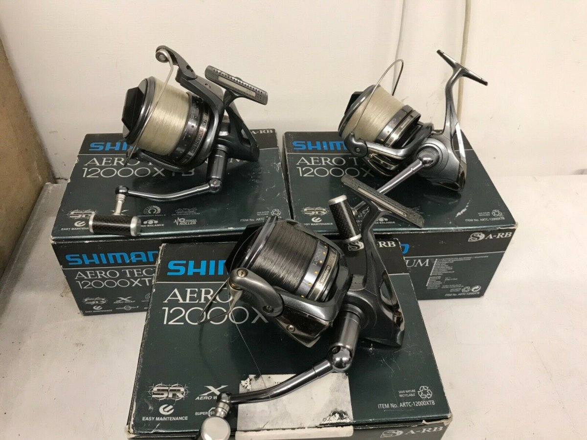 Ad - 3x Shimano Technium 12000XTB and 8 spare spools On eBay here --&<b>Gt;</b>&<b>Gt;</b> https://t