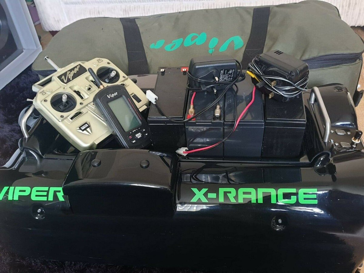 Ad - Viper X-Range Bait Boat With FF1 Echo Sounder On eBay here --&<b>Gt;</b>&<b>Gt;</b> https://t.c