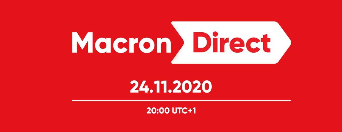 It's now !  #Macron20h #NintendoDirect #MacronDirect