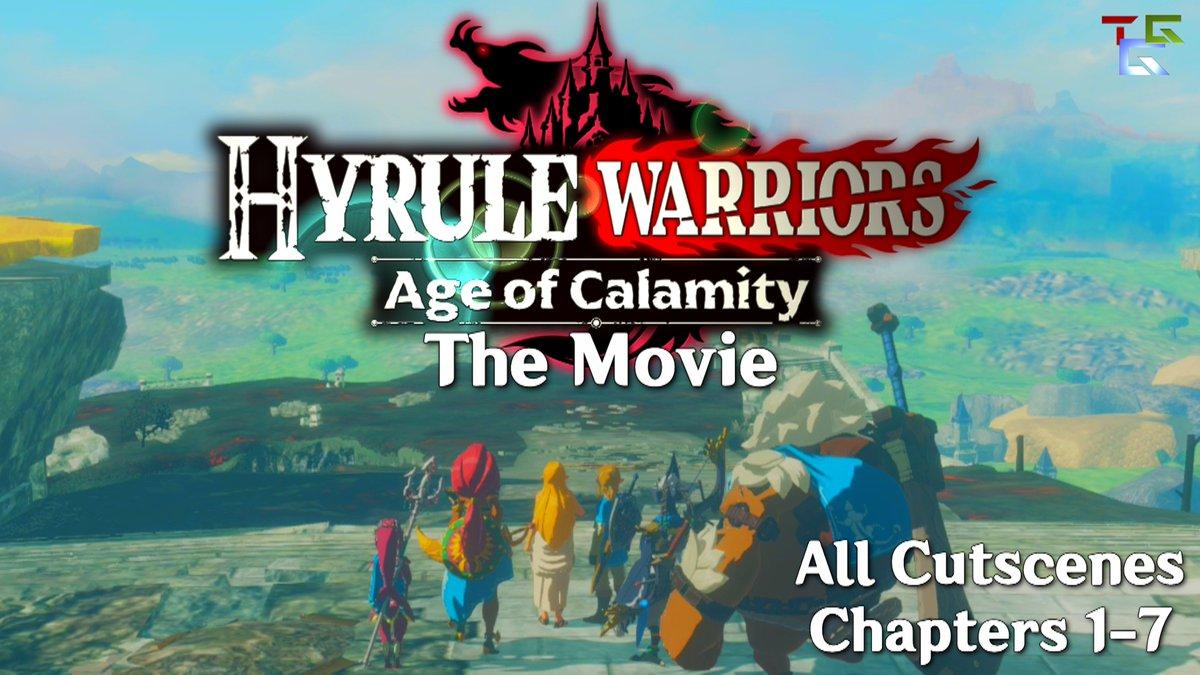 Hey everyone!  I just uploaded my Hyrule Warriors: Age of Calamity the Movie video on YouTube!!!   Check it out here  🔥  #HyruleWarriors #HyruleWarriorsAgeofCalamity #hyrulewarriorsog #link #zelda #ganon #calamityganon #hyrule #nintendo #nintendodirect