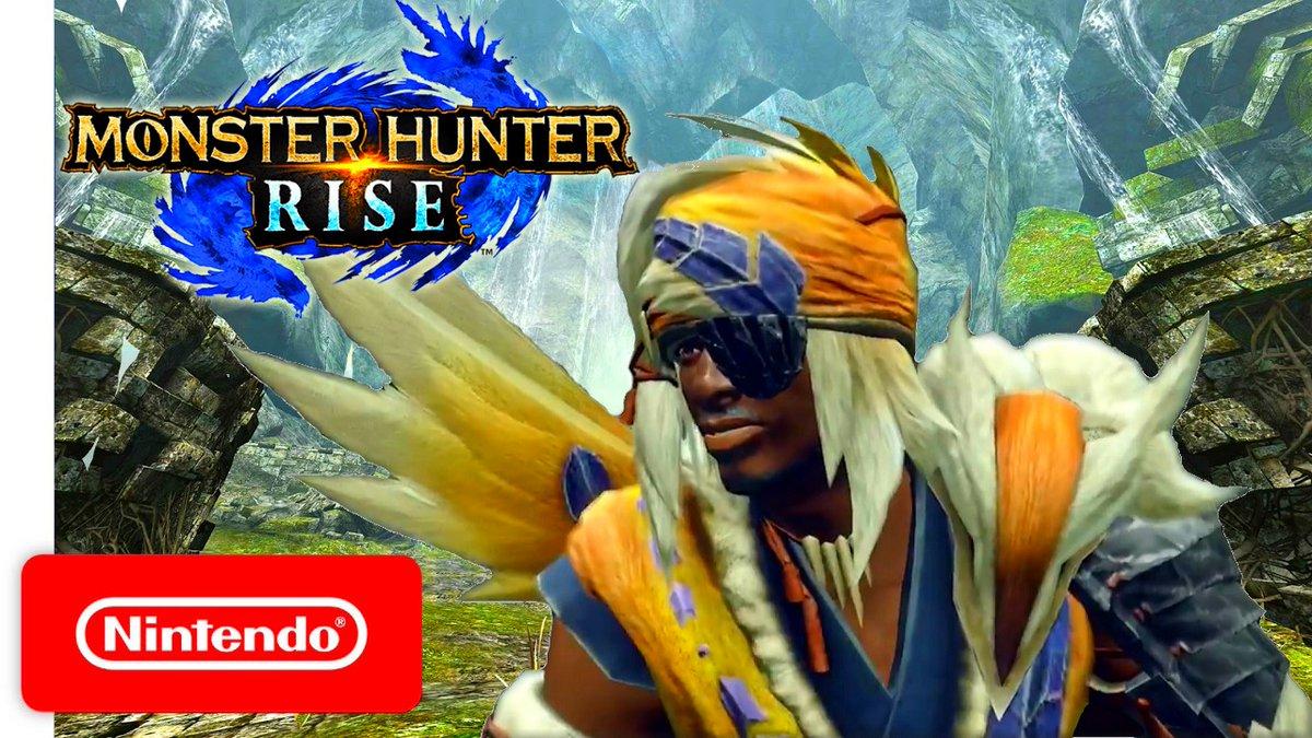 Monster Hunter Rise GAMEPLAY Great Izuchi ARMOR for Nintendo Switch. #NintendoSwitch #NintendoDirect #Announcements #MonsterHunter #MonsterHunterRise #MHW #Switch #Nintendo #MHWアイスボーン #モンスターハンターライズ   Video ----->