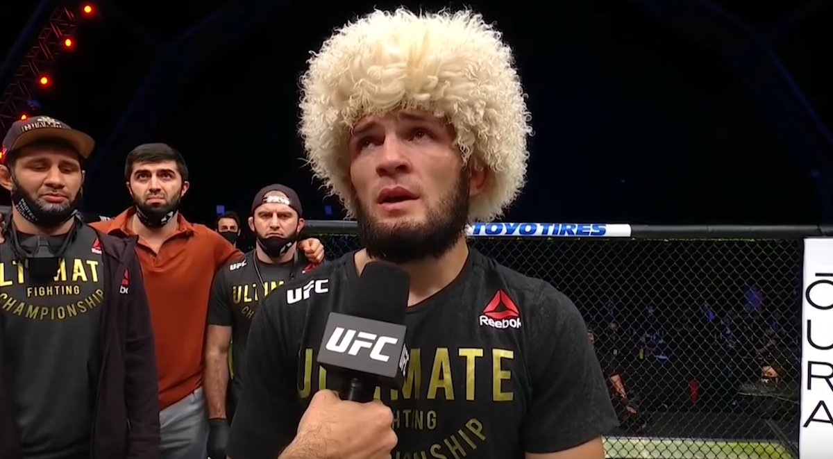 Khabib Spikes Speculation About Fighting Future With Social Media Post -  #UFC #UFC254